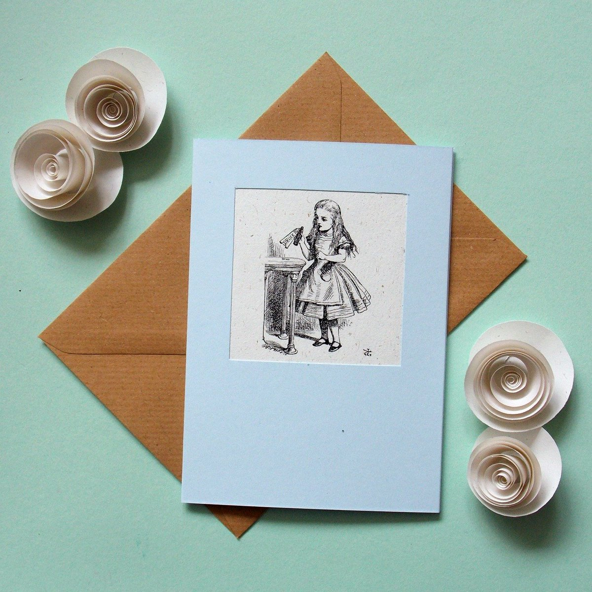 Lily Smart On Twitter Alice In Wonderland Card Hand Made