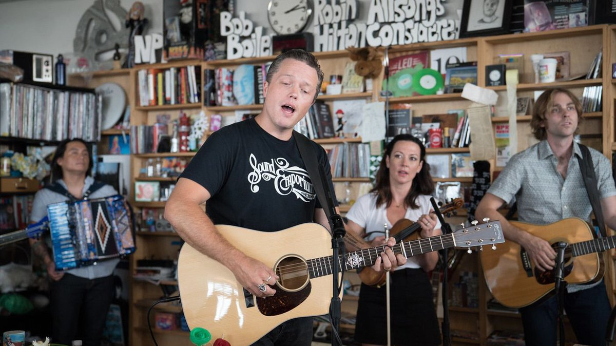 Stop what you're doing and watch @JasonIsbell's Tiny Desk Concert https://t.co/tpvhJYPmxc @nprmusic https://t.co/yazUtGMC28