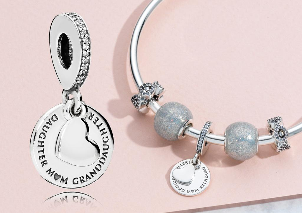 6888a6ebe ... usa pandora jewellery uk on twitter charmingtuesday celebrate family  with our new three generations charm engraved