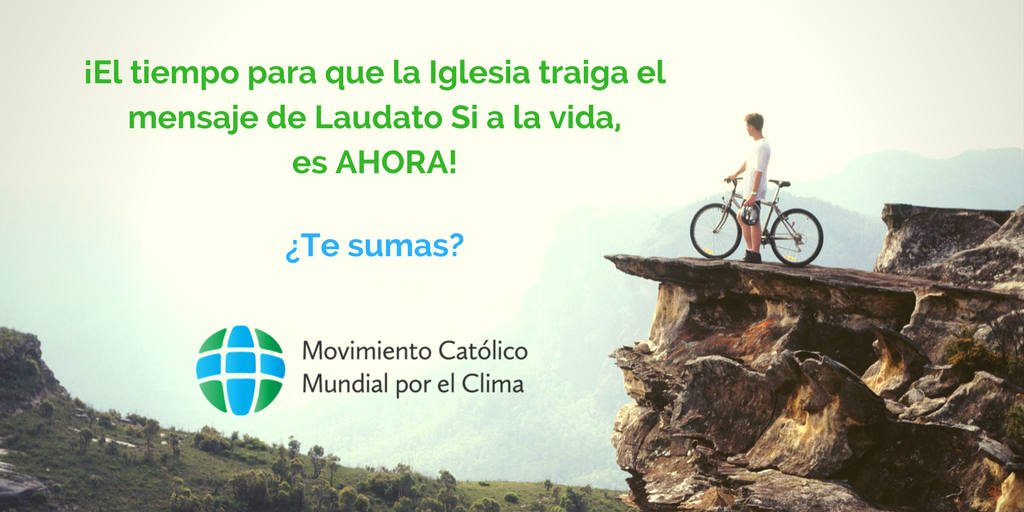 Image result for movimiento catolico mundial por el clima