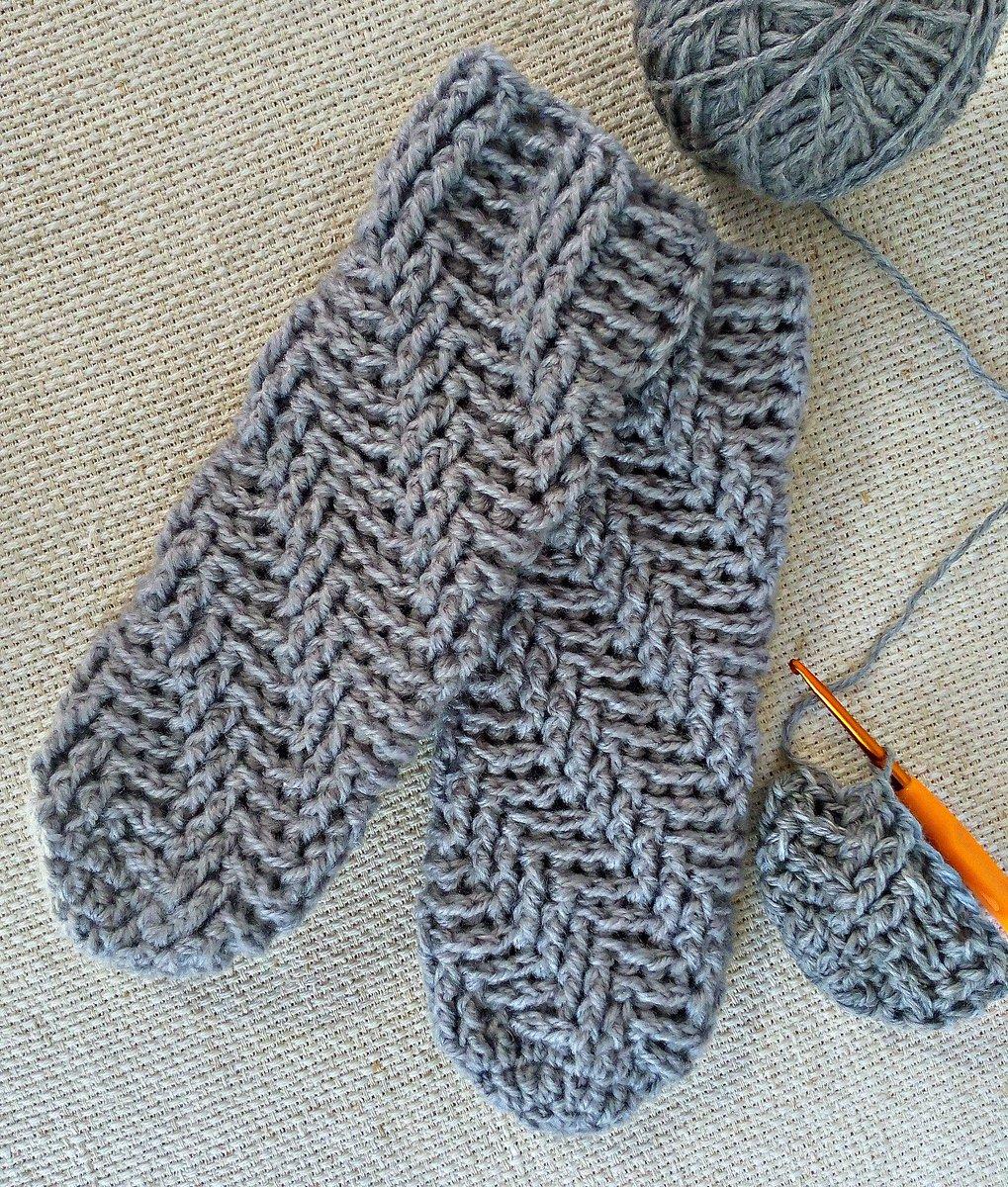 Вязание крючком коврика мишка