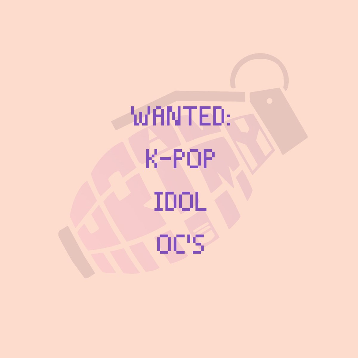 WANTED: KPOP IDOL OC'S