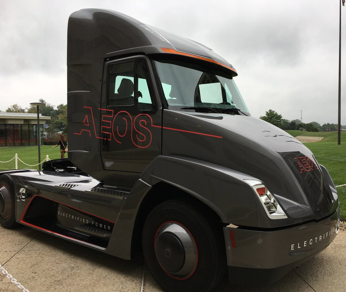 Electrek Co On Twitter Sel Engine Manufacturer Mins Goes Electric With New Truck Ahead Of Tesla Semi Unveil Https T 64yxkpkgzx