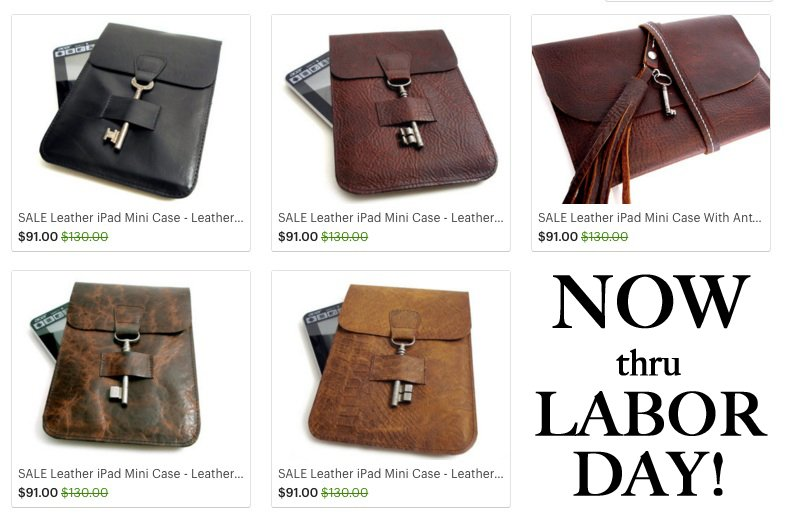 e48da09b24  LaborDaySale on all leather  Kindle and  iPad Mini cases!  steampunk   leather  ebooks  bookworms  Gadgets 30% Off http   urbanheirlooms.etsy.com  ...