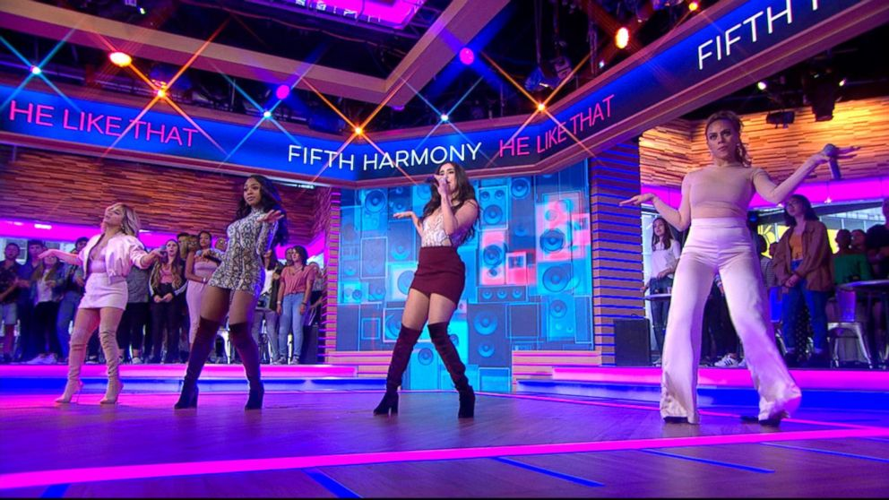 Fifth Harmony rocks out to their new song 'He Like That' live on 'GMA' https://t.co/ml5XWFLcDW https://t.co/X76vPOvuWm