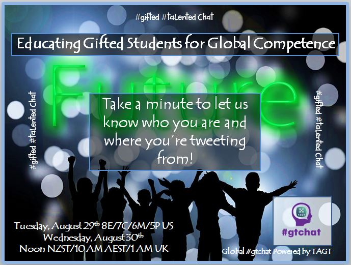 Let's introduce ourselves – who you are and where you're tweeting from!  #gtchat https://t.co/RF8SSUOk4r