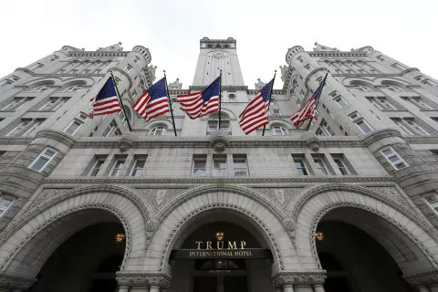 EXCLUSIVE: @USGSA inspector general evaluating Trump Hotel lease https://t.co/PuBTpA6Xyy  @msomersWFED https://t.co/CCUelldB4h