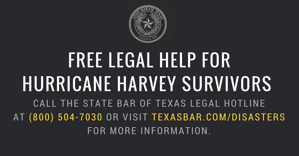 Free legal help for those in need. #Harvey https://t.co/nkaBTRHgPs