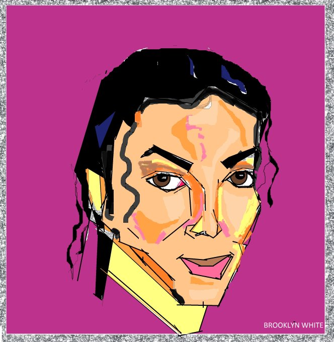 MUCH LOVE TO THE KING MICHAEL JACKSON!!!!!! HAPPY BIRTHDAY!!!!!!! WE MISS YA~ (microsoft paint)