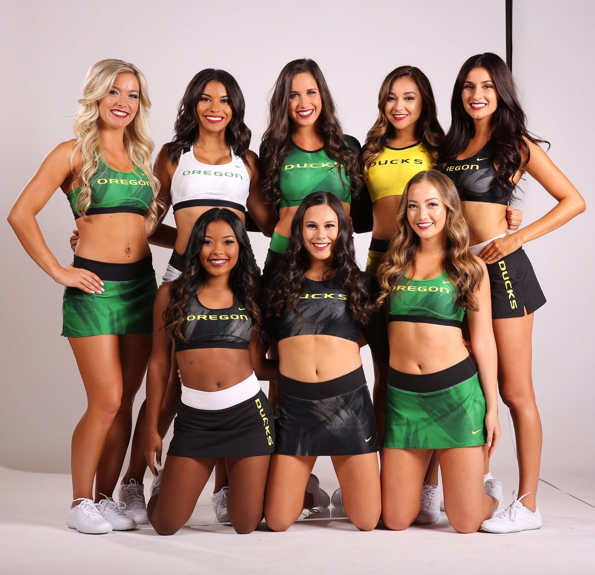 Image result for oregon cheerleaders