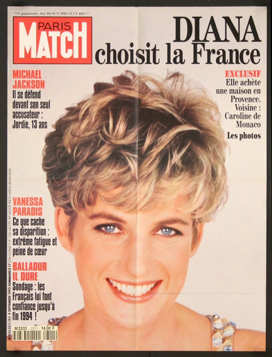 It&#39;s been 20 years since our beautiful Princess Diana met her tragic end. #PrincessDiana #ParisMatch #VintagePosters<br>http://pic.twitter.com/DydxNyvfDx