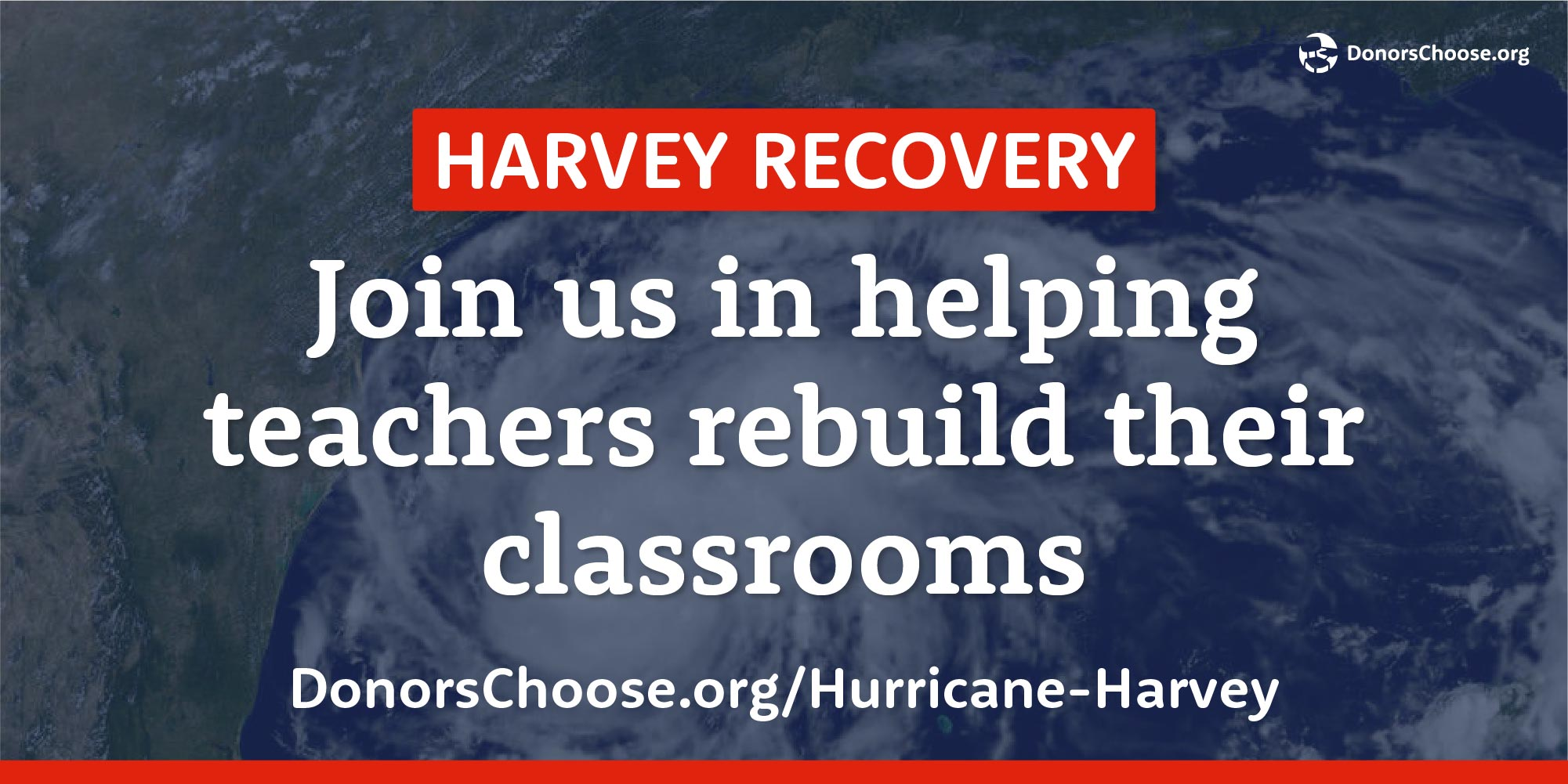 You can help teachers in Texas and Louisiana get the supplies they'll need to rebuild classrooms damaged by #Harvey: https://t.co/C1dKd2cfmE https://t.co/8jxVkRbkq1