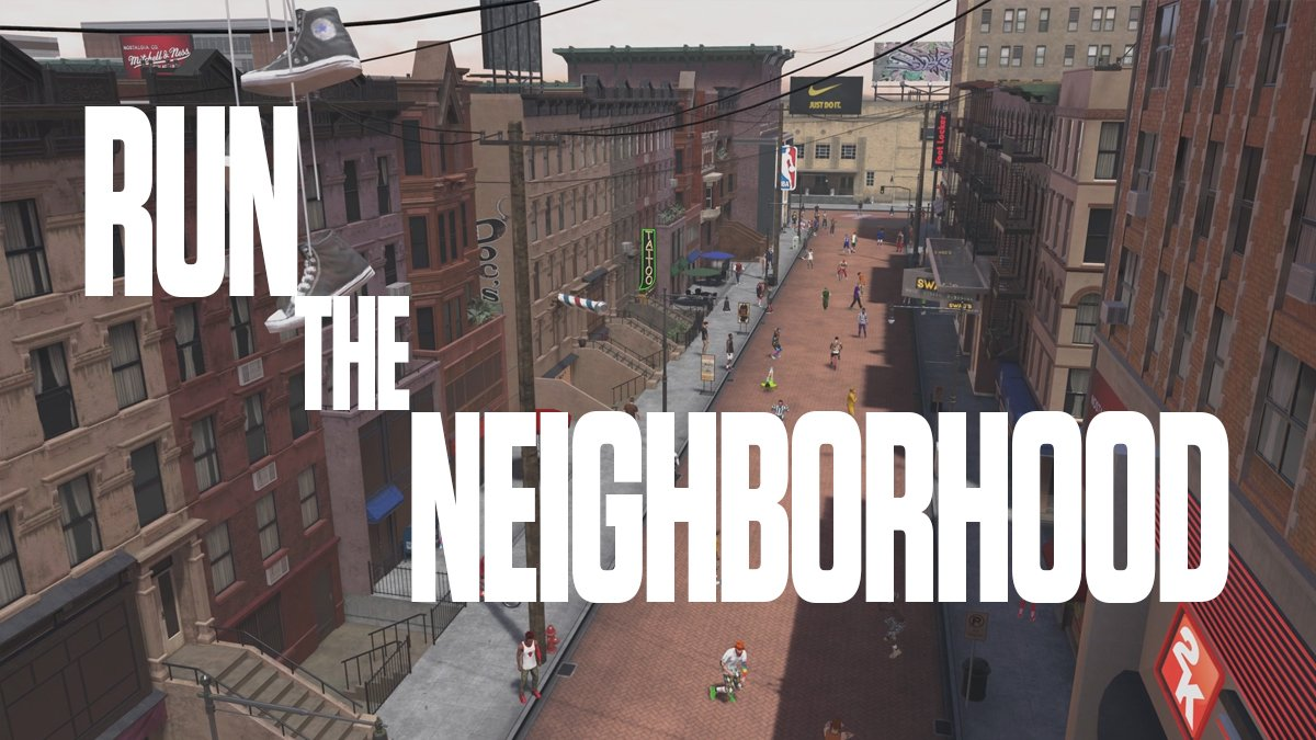 In #NBA2K18, you don't just play the game... you live it. Are you ready to #RunTheNeighborhood? https://t.co/QPkqqBSso7