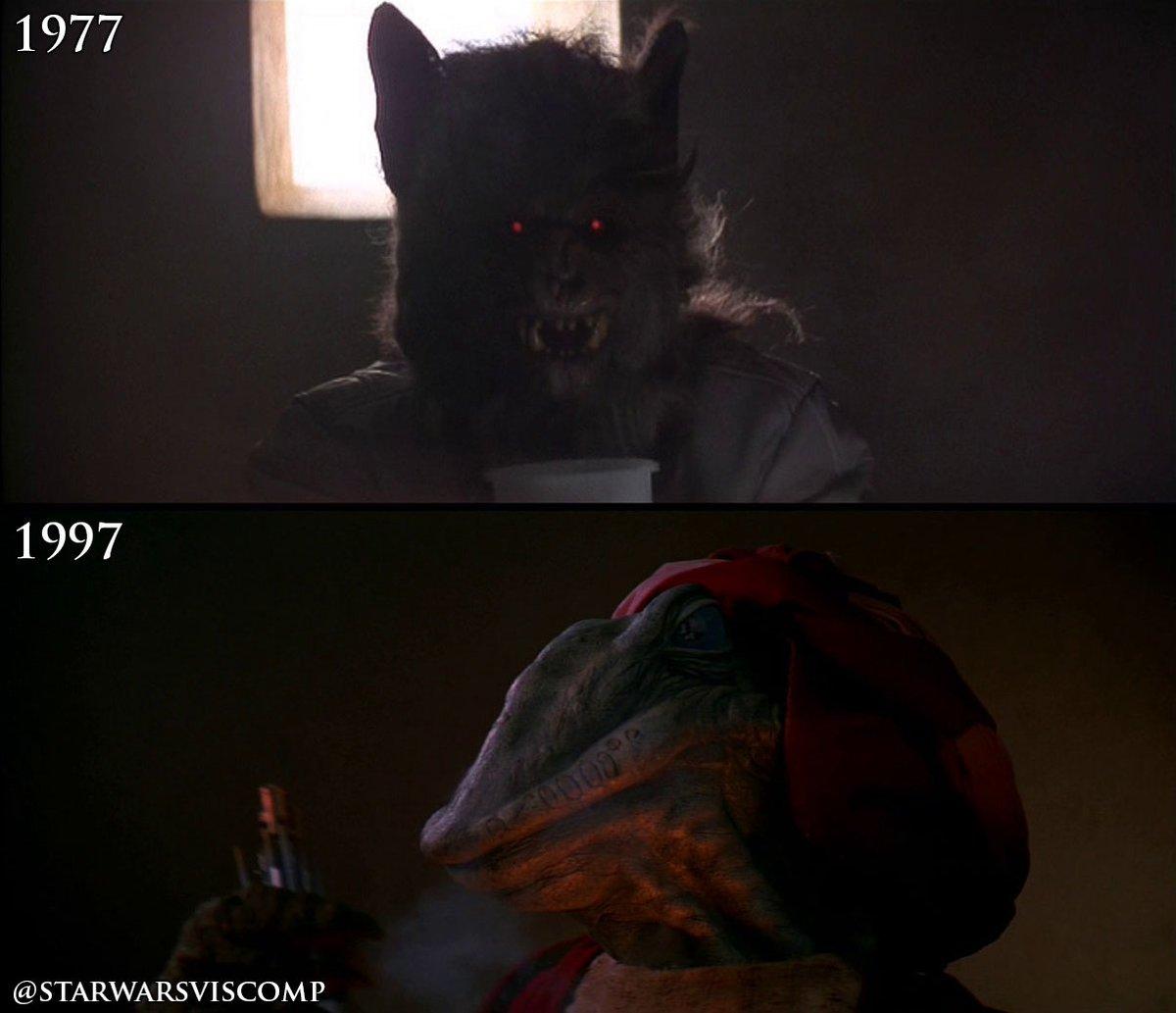Star Wars Comparison On Twitter This Bat Demon Wolfman