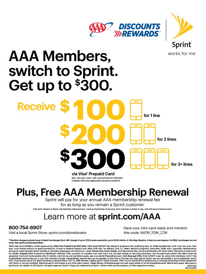 Partnerships With #AAA U0026 #IBMSECU @Sprint7075 !! Come By And Save! 4246  Northlake Blvd Palm Beach Gardens, Florida 33410  #rewardspic.twitter.com/CluhKJOy0K