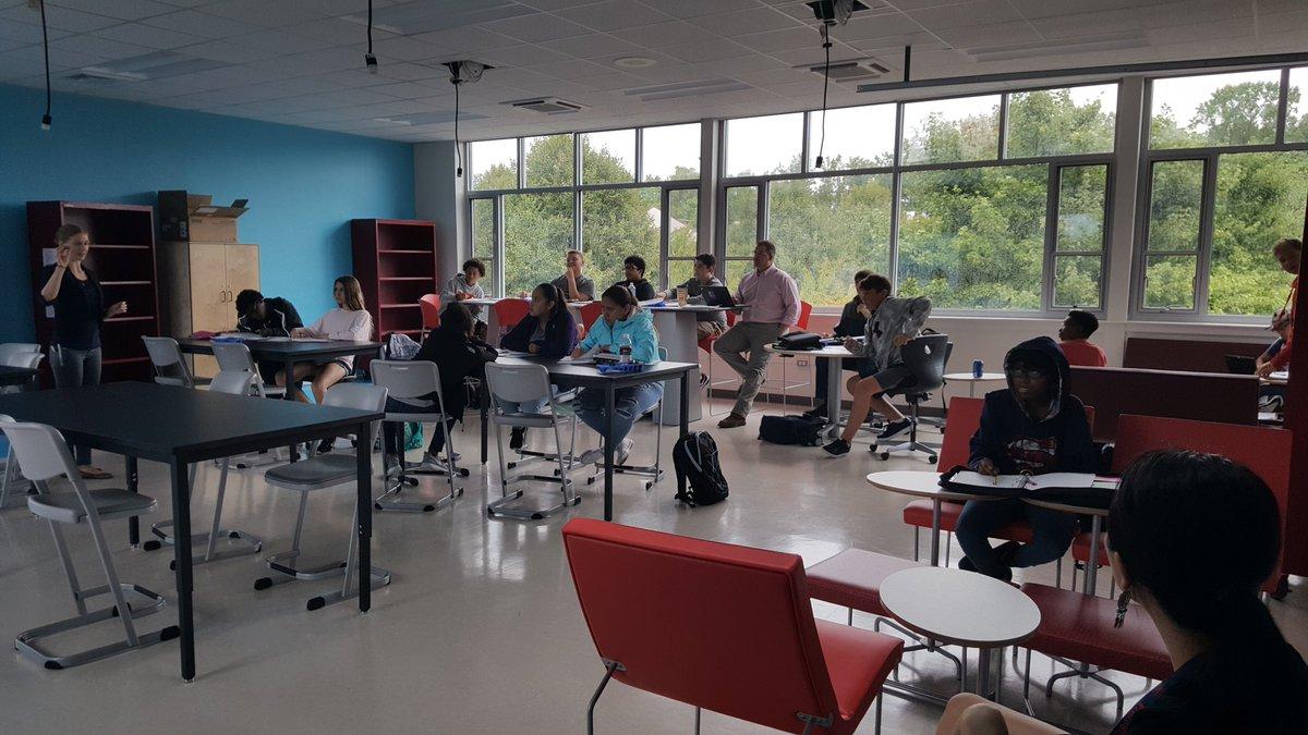 Reimagining the high school classroom #acps @AlbemarleHigh https://t.co/ZeMGM1CKKG