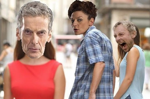 Ok, so I don't usually make my own memes, but I couldn't pass up making this one. #DoctorWho https://t.co/u7yYTssd2A
