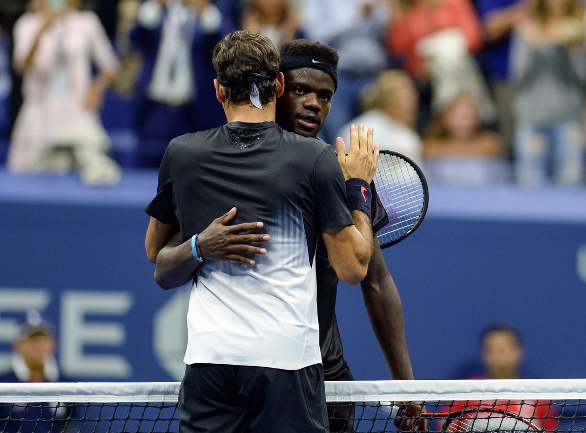 Federer gratuloval Tiafoeovi ke skvělému výkonu