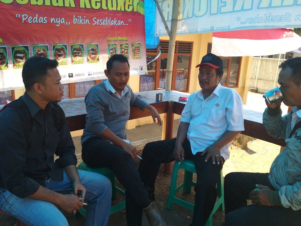Monitoring banprov bersama sekdes Sedonglor, ekbang kecamatan Sedong pic.twitter.com/GgtKrnWI4Y