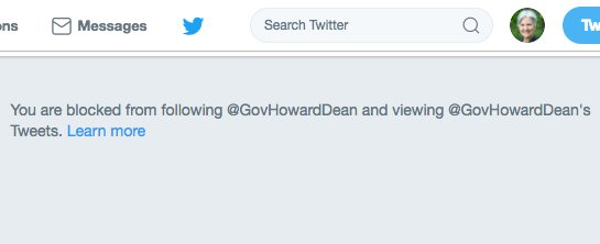Seems Howard Dean believes in open debate as much as the DNC - which colludes with the RNC to prevent open debates.
