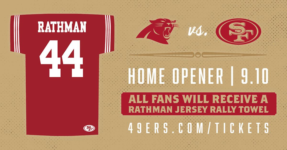 buy online 5398c 74a3d San Francisco 49ers on Twitter: