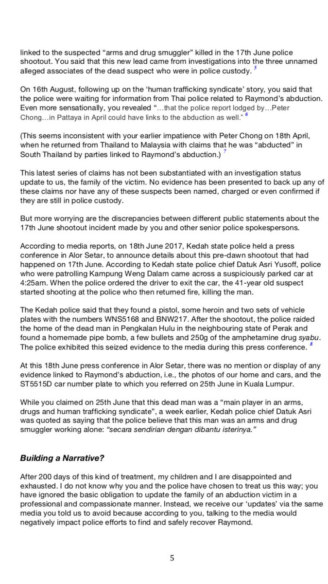 Sumisha Naidu on Twitter \ Pastor Raymond Koh\u0027s wife pens open letter to IGP 200 days after her husband\u0027s abduction.\u2026 \   sc 1 st  Twitter & Sumisha Naidu on Twitter: \
