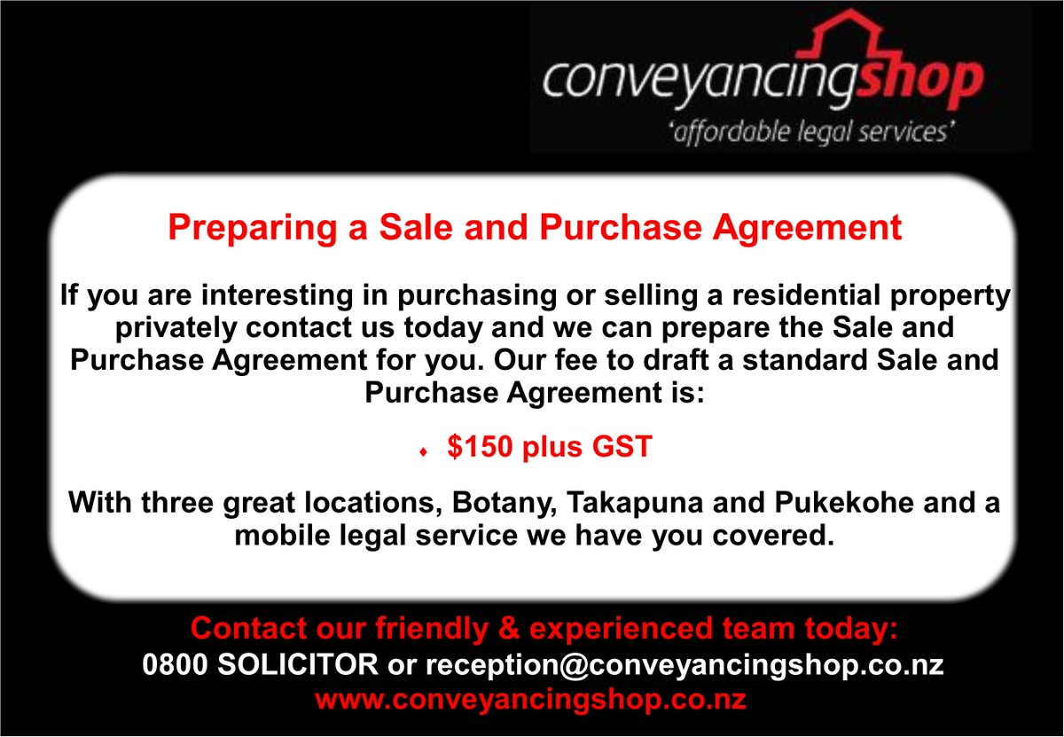 Conveyancing Shop on Twitter:
