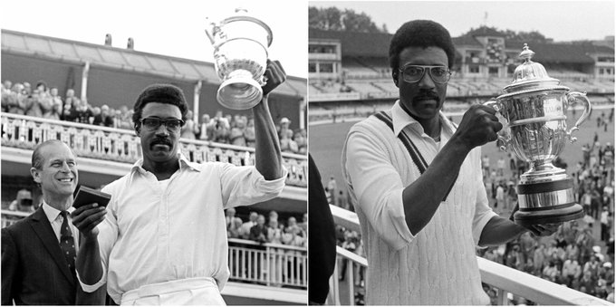 1975: 1979: Happy 73rd birthday to the man who led to two Cricket World Cup titles, Clive Lloyd!