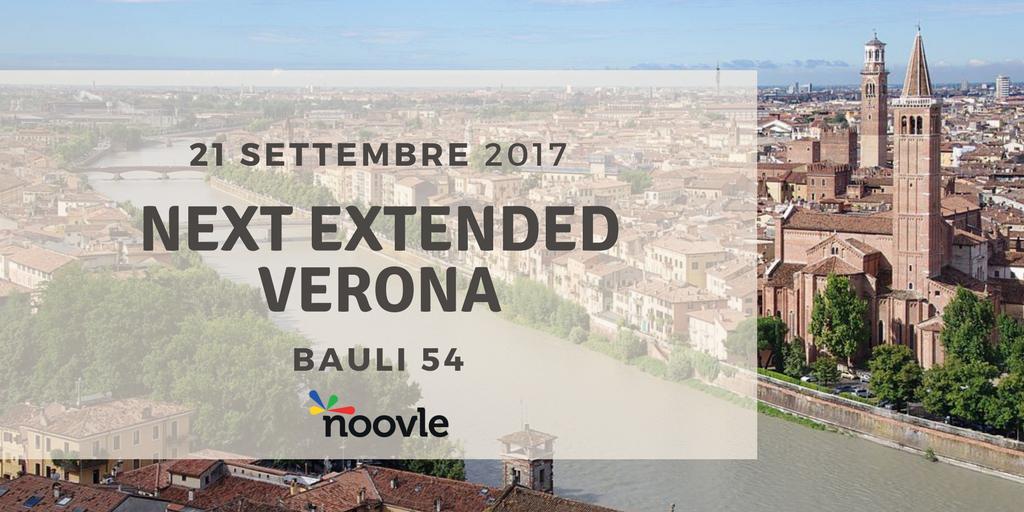 Dopo il successo di #GoogleNext17 a Milano, torna il Roadshow targato Next Extended! Registrati qui https://t.co/9kId1YVr1w #noovle4change https://t.co/Th9gDxdQ2o