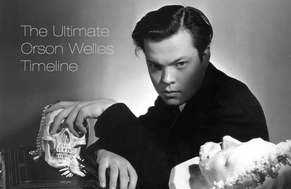 """""""Orson Welles: The Final Cut"""" book by Chris Wade (@dodsonandfogg) added to The Ultimate #OrsonWelles Timeline >> https://t.co/NBu2Vs29kL 📕"""