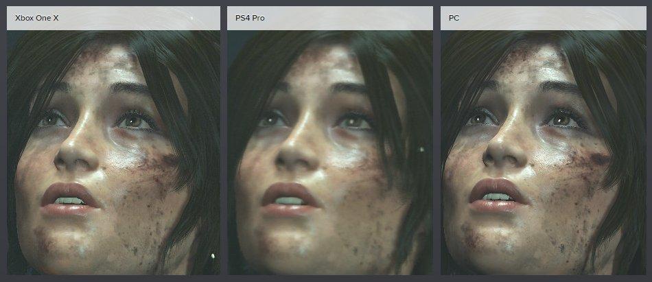 DigitalFoundry: RotTR Xbox One X vs PS4 Pro First Look ... Xbox One X Vs Ps4 Pro Graphics Comparison