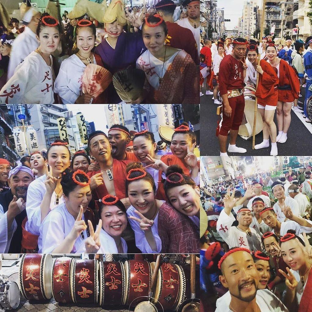 #第61回東京高円寺阿波おどり #ティーエスホームさんありがとうございました #次は9月2日稲城阿波おどり大会 #2日間お疲れ様です #二日間ありがとうございました #8月26日 #8月27日 #阿波踊り #阿波おどり #あわお…