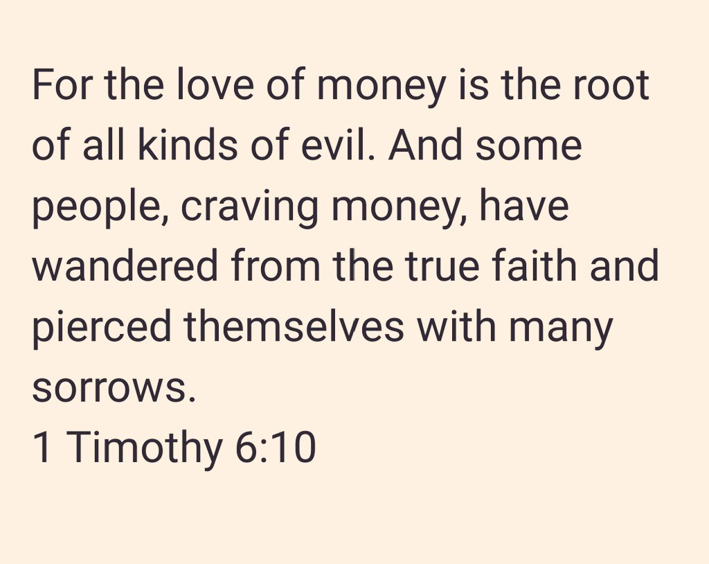 """an analysis of the love for money as the root of evil Have you ever heard of the phrase, """"money is the root of all evil"""" instead, we read that love of money is """"a root of all kinds of evil."""