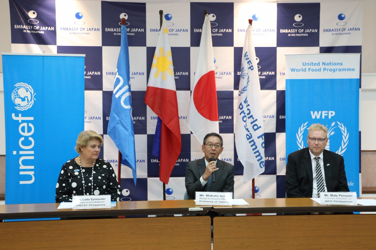 World Food Programme Philippines On Twitter The Gov T Of Japan Formally Handed Over Its Contribution To Wfp And Unicefphils In Support Of The People Affected By The Conflict In Marawi Https T Co Jeduoujfma