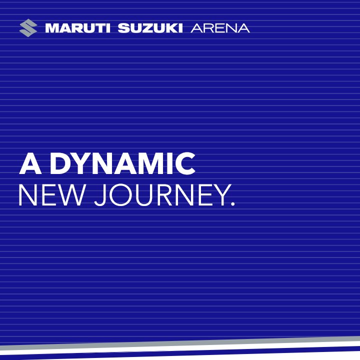 As we move ahead on this journey of #transforMOTION, we proudly bring to you the dynamic new world of #marutisuzukiARENA. https://t.co/U0W3X2Jlna