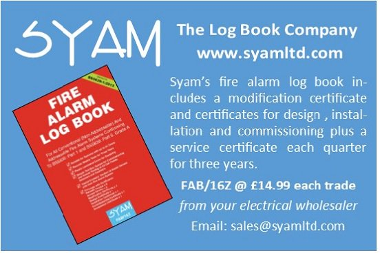 Syam Log Books On Twitter Whether Installing Or Testing A Fire Alarm System Syam S Fire Alarm Log Book Suits All Makes And Types With A Control Panel Firesafety Https T Co 6uzk5uerqr