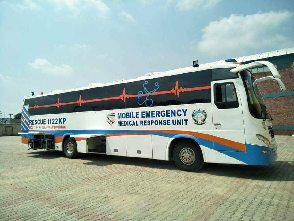 Khyber Pakhtunkhwa(KPK) receives its first MOBILE HOSPITAL