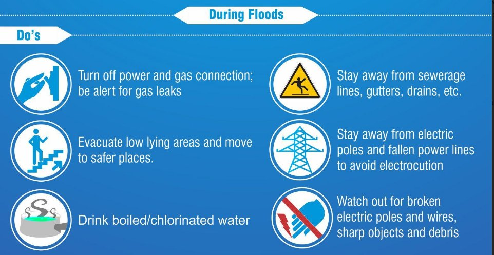 #MumbaiRains: Follow these basic Do's to ensure safety. Be smart, be safe. https://t.co/ukKrpa5PKz