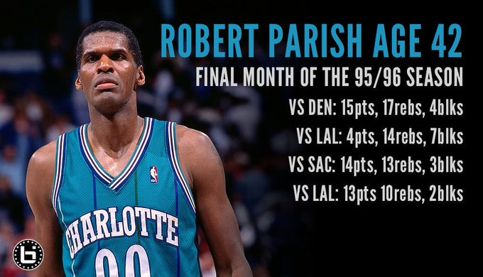 Happy 64th birthday to the Chief! Robert Parish was still a beast @ the age of 42!   VIDEO: