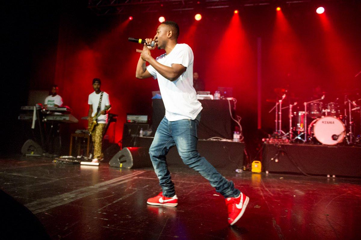 huge discount df1d6 3a891 Kendrick Lamar Nike Cortez : Kendrick Lamar wearing Nike ...