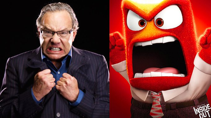 Happy 69th Birthday to Lewis Black! The voice of Anger in Inside Out.