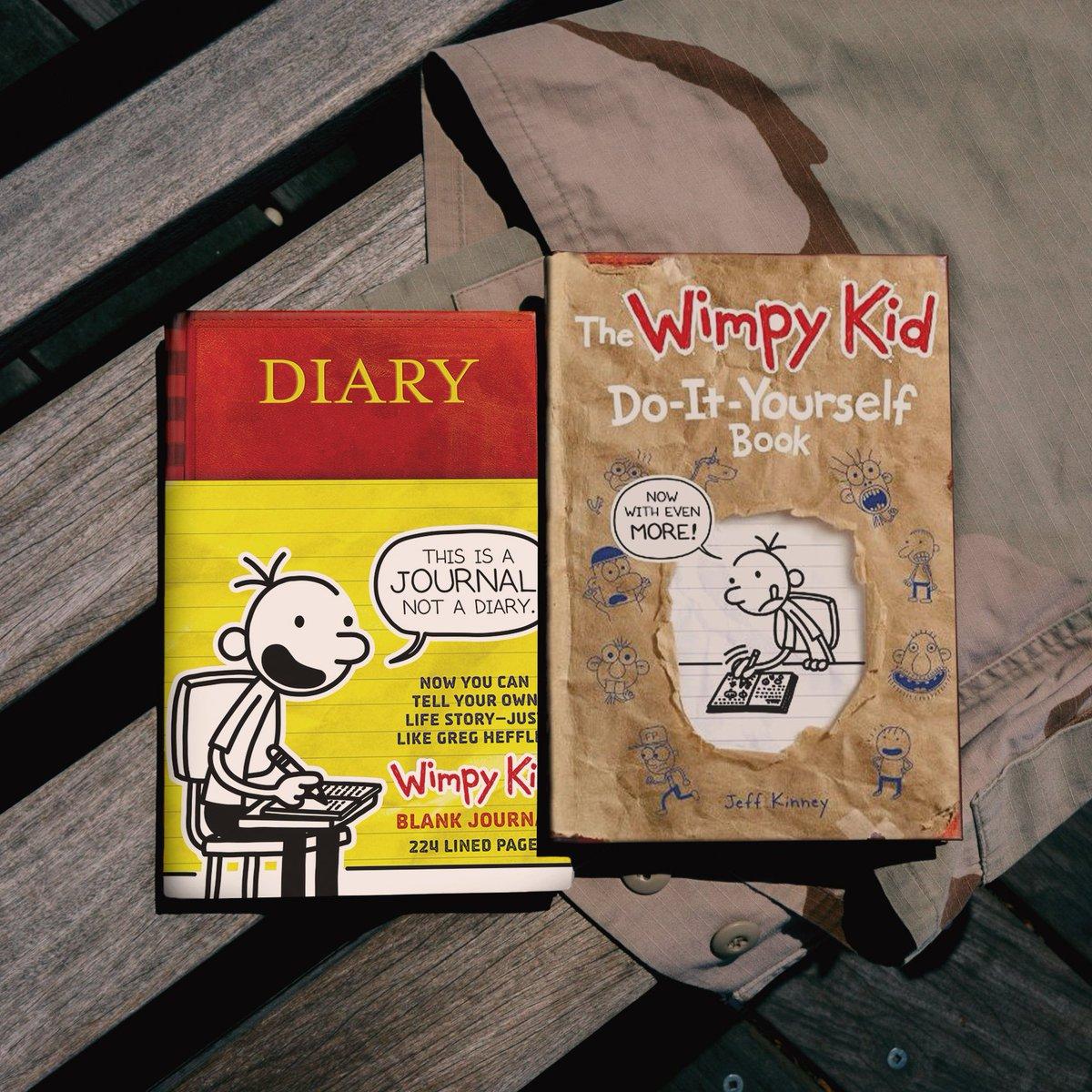Jeff kinney on twitter for the storyteller inside everyone the jeff kinney on twitter for the storyteller inside everyone the wimpykid diy and blank journal bundle httpstrujxeqmrxn solutioingenieria Images