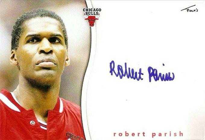 Happy Birthday to legend Robert Parish who turns 64 today!