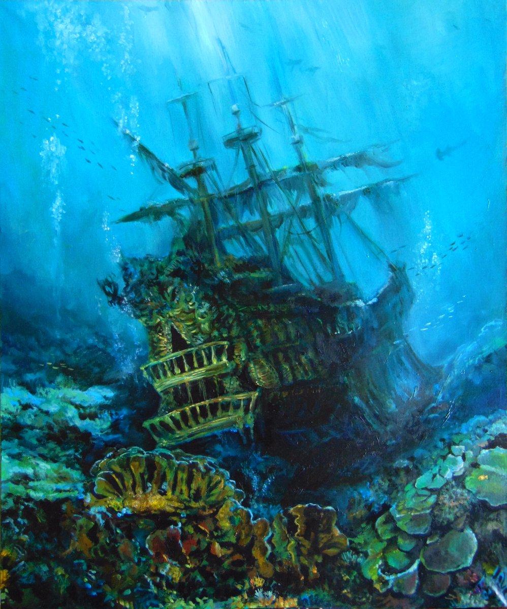 Дно корабля картинки