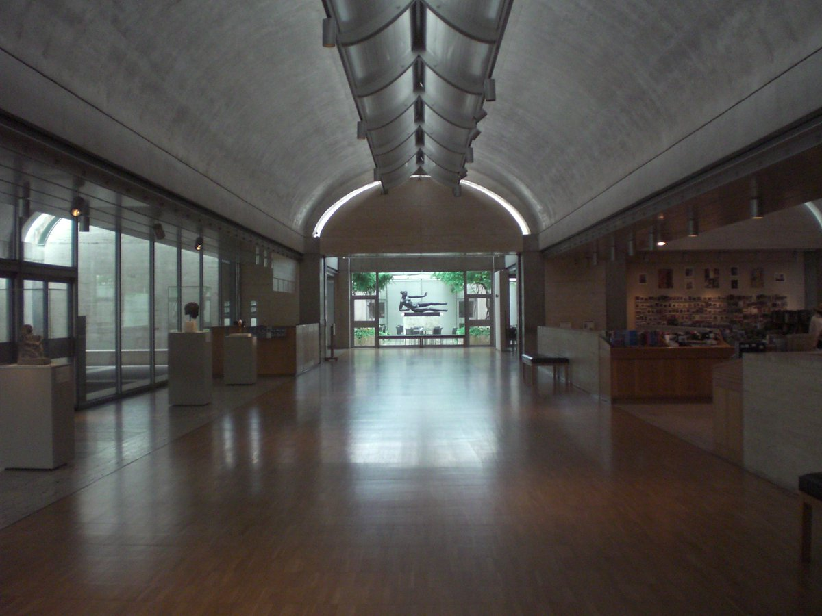 taka architects on twitter lobby interior kimbell museum fort