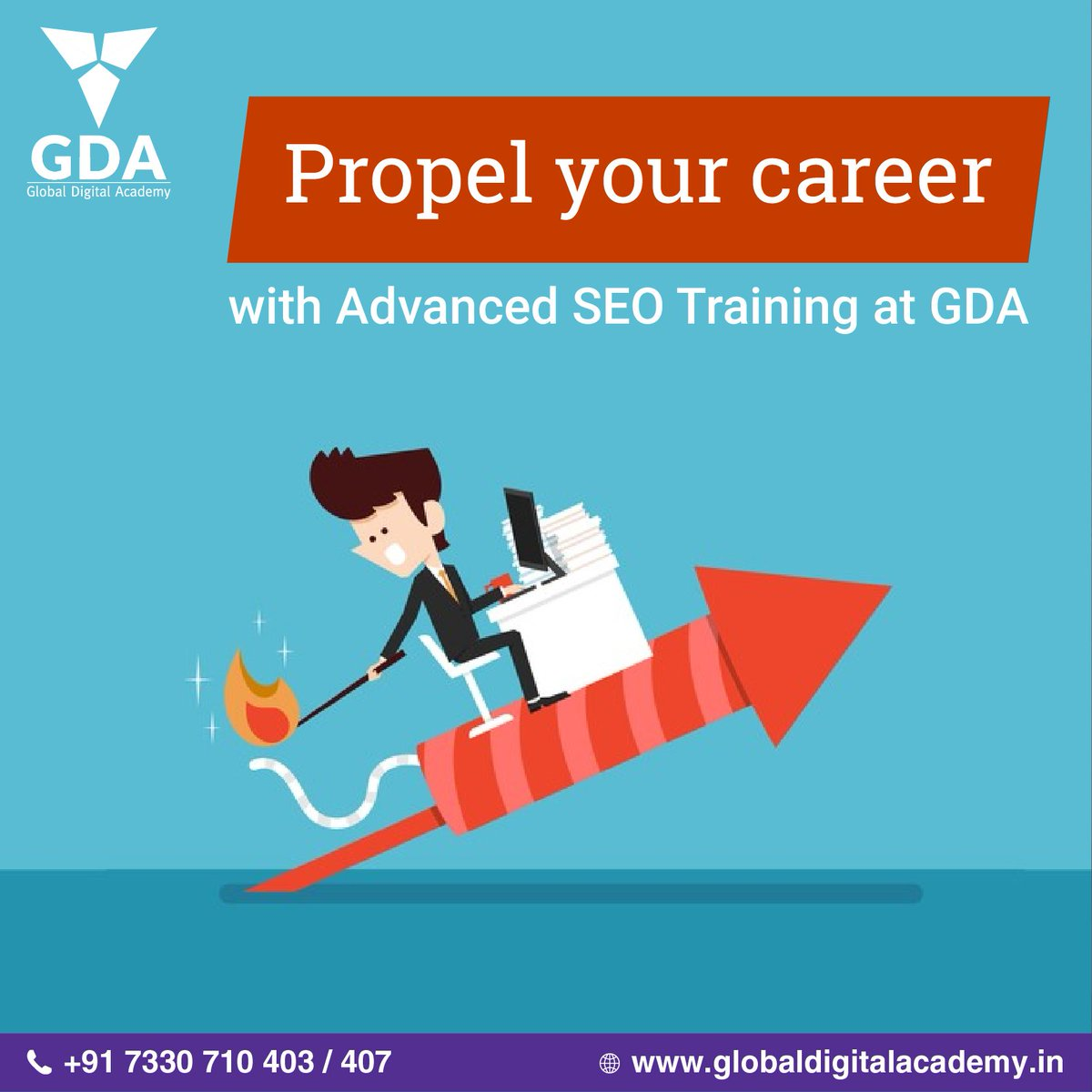 Propel your #carrer with Advanced #SEO #Training at @GDAHub .  Visit:  http://www. globaldigitalacademy.in / &nbsp;   Contact: 7330710403<br>http://pic.twitter.com/Utxu54Ffzd