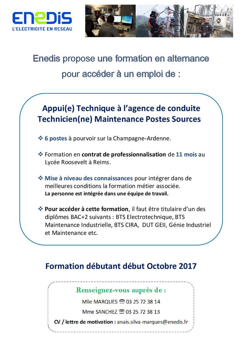 Enedis Champardenne On Twitter Enedis Recrute Des