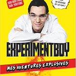 """7 livres """"Mes aventures explosives"""" @Experimentboy à gagner sans AUCUN hasard sur @7quizFR :  (18 et 19 septembre)"""