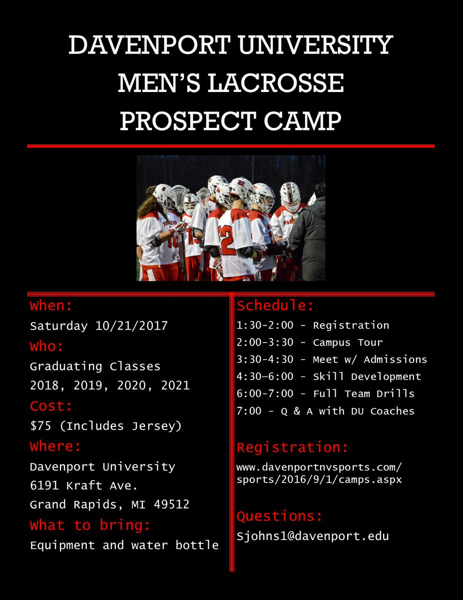 Davenport Men's Lax on Twitter: