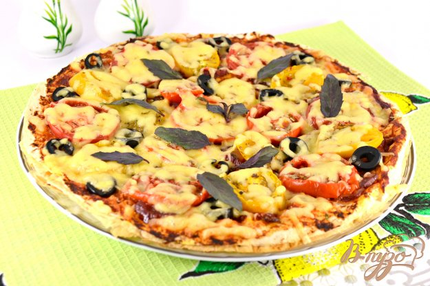 Пицца рецепт королевская